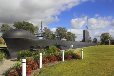 Holbrook Submarine - Albury Wodonga Australia